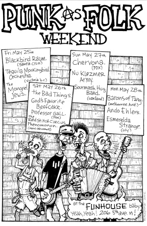 Punk As Folk Weekend - May 2012