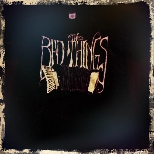 "Bad Things Men's ""Accordion Logo"" T-Shirt"
