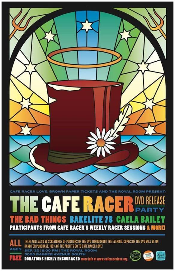 Cafe Racer Memorial DVD Release Party - September 2013