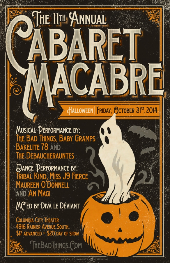 2014 Cabaret Macabare