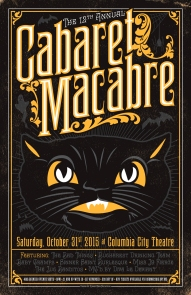 12th Annual Cabaret Macabre - October 2015