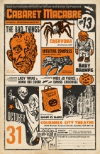 The 13th Annual Cabaret Macabre - October 2016